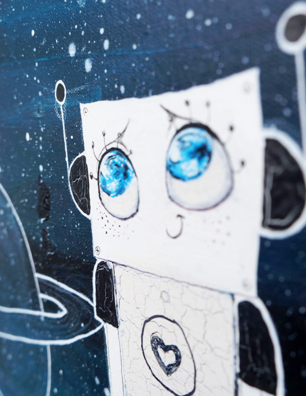 the happy robots maria