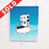 cloud 9, maria j andersen, the happy robots, art, odense, kunst